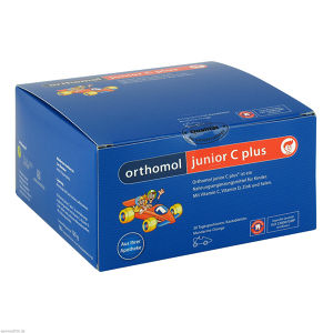 Orthomol Junior C plus Mandarine/Orange